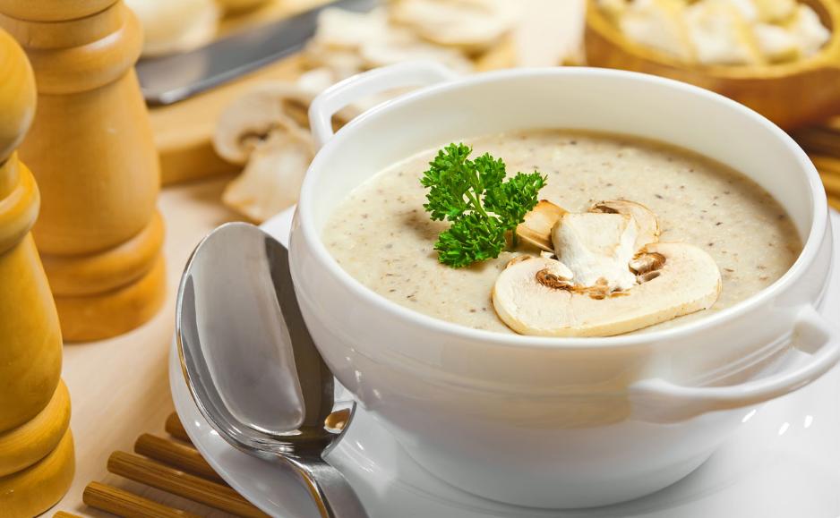 Самые простые рецепты приготовления крем-супа из грибов