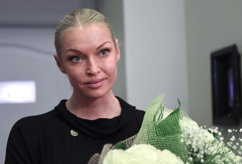 Анастасия Волочкова пригласила поклонников на концерт