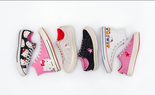 Коллекция кедов Hello Kitty x Converse, фото