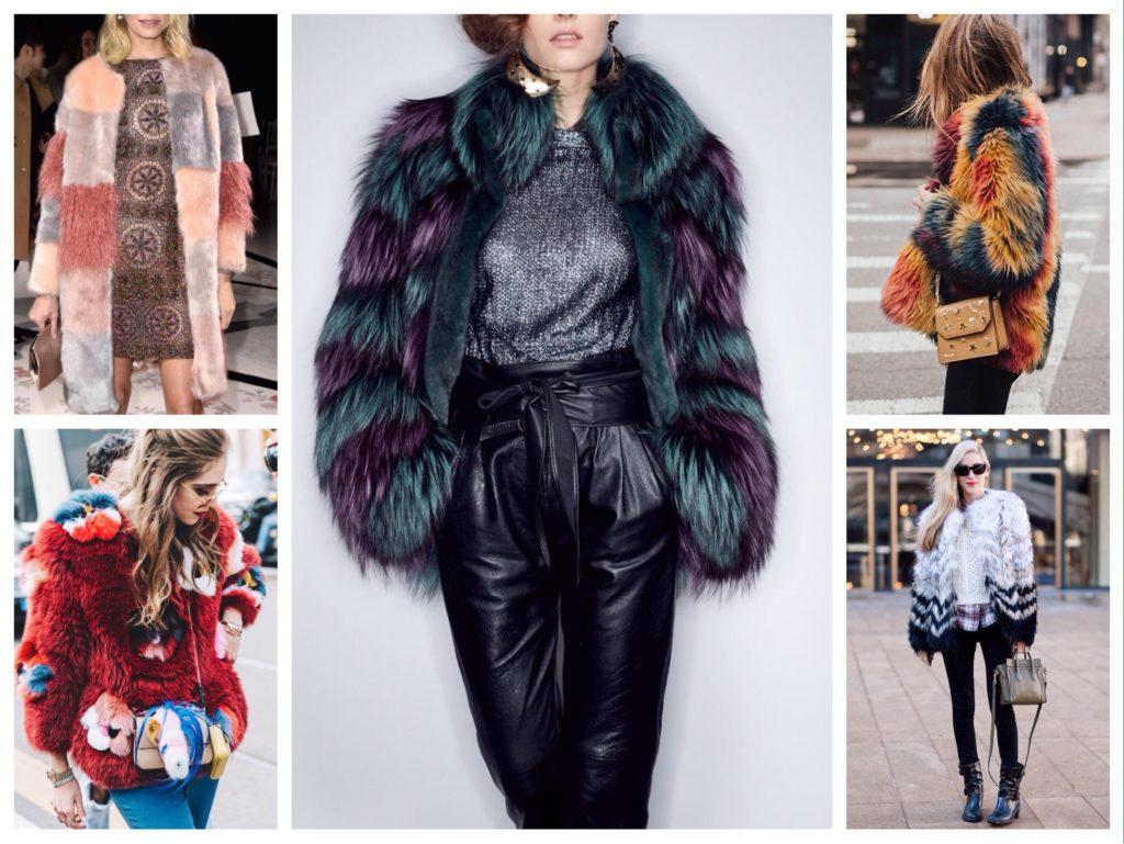 Женские пальто из искусственного меха: стильные варианты картинки