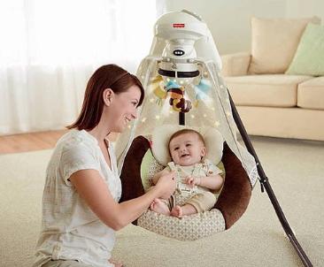 Качели для новорожденных напрокат: выбираем подходящий вариант
