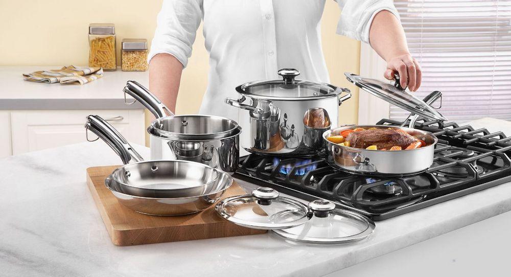 Кухонная посуда: разновидности и особенности выбора