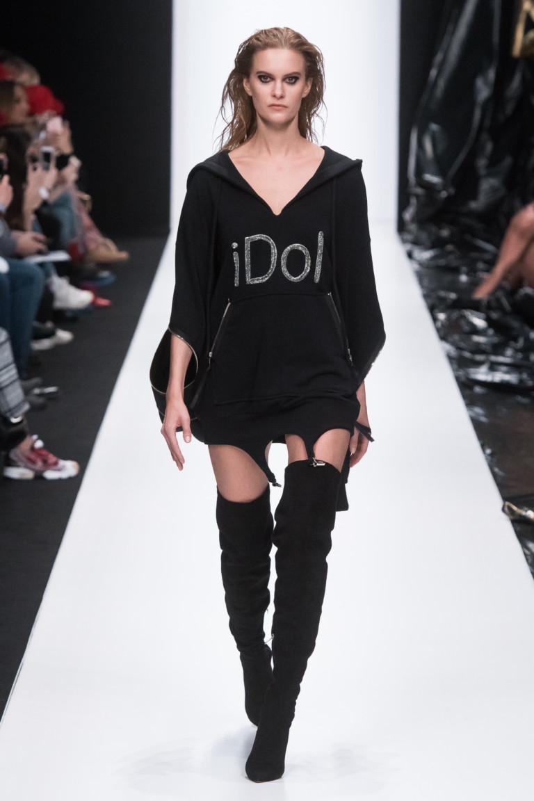 64dd7552dc69 ... но также надевать сверху на джинсы, лосины, штаны зауженного или  прямого силуэта. Такие ботфорты смотрятся грубовато, и стилисты рекомендуют  их изящным ...