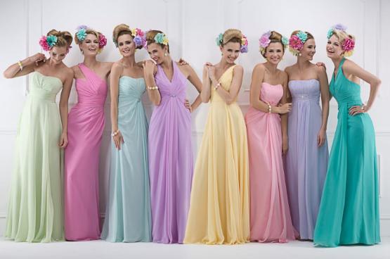 Как выбрать цвет платья?