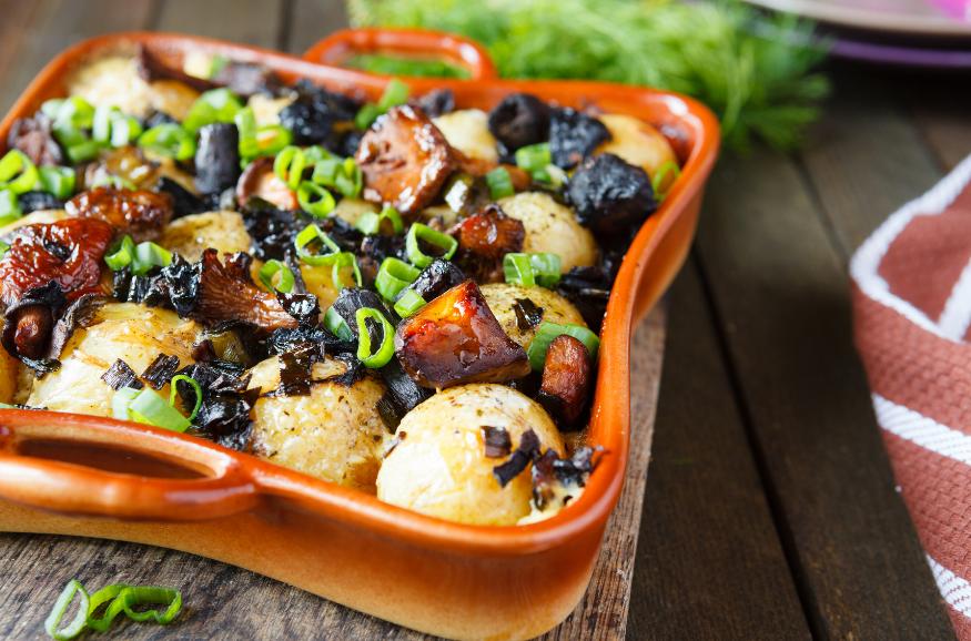 Топ-3 простых рецептов блюд из картошки и грибов