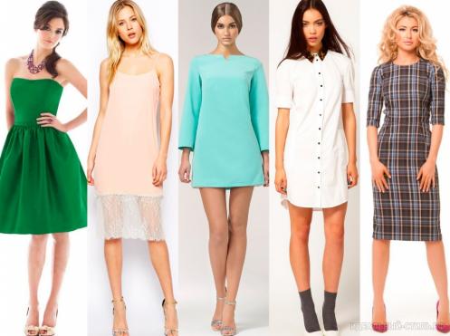 Какие модели платьев должны быть в гардеробе каждой современной женщины