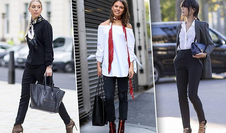 Собираем лук: все, что подойдет к женским брюкам