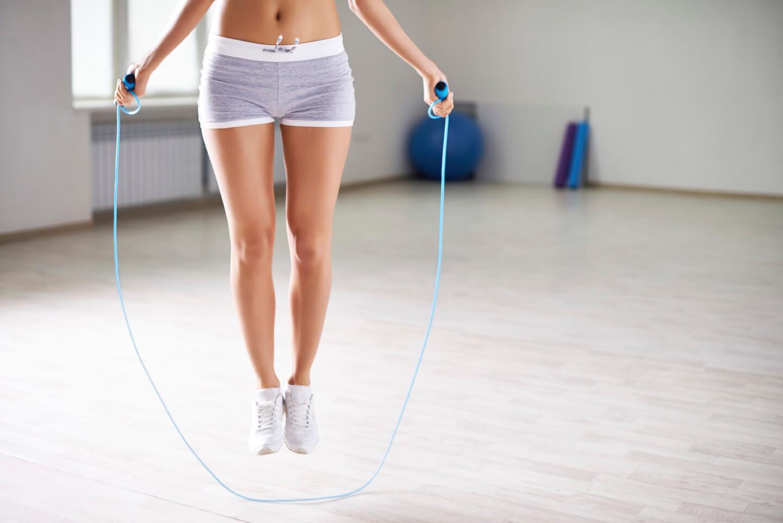 Прыжки на скакалке для похудения картинки
