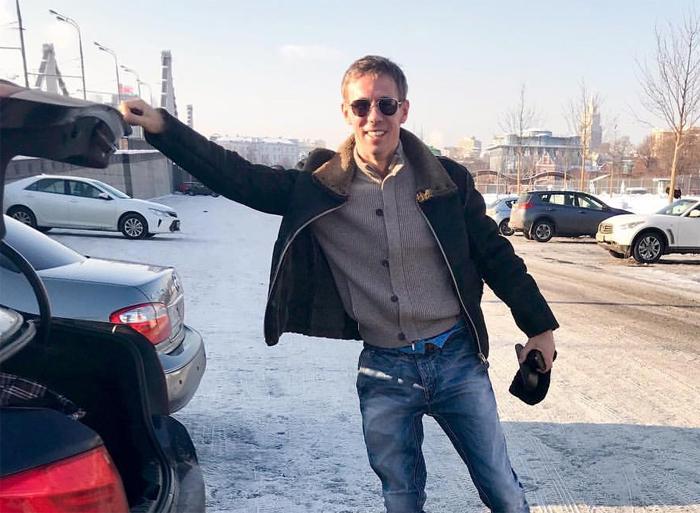 Алексей Панин попал в ДТП