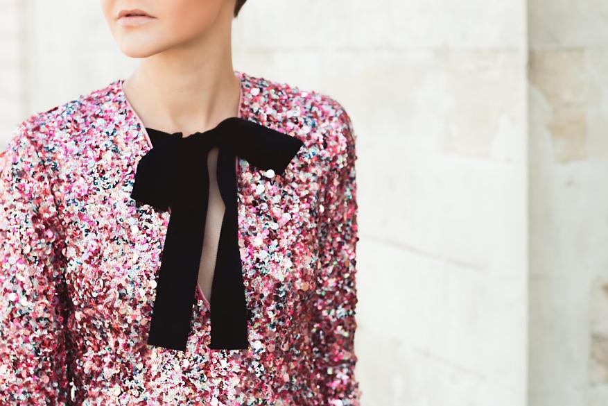 Модные женские платья в стиле диско в коллекциях весны и лета 2019, фото