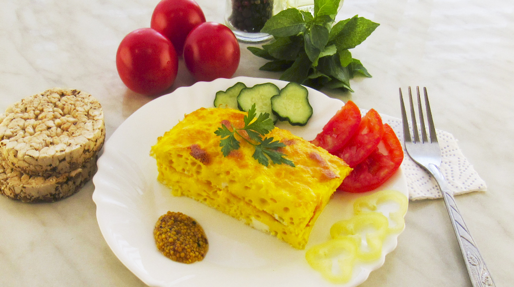 Необычные рецепты приготовления омлета