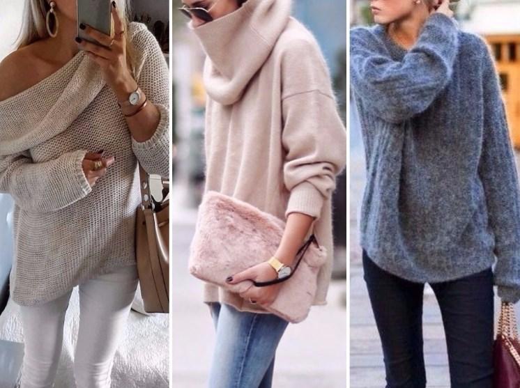 Утепляемся: модные свитера сезона осень-зима 2018-2019