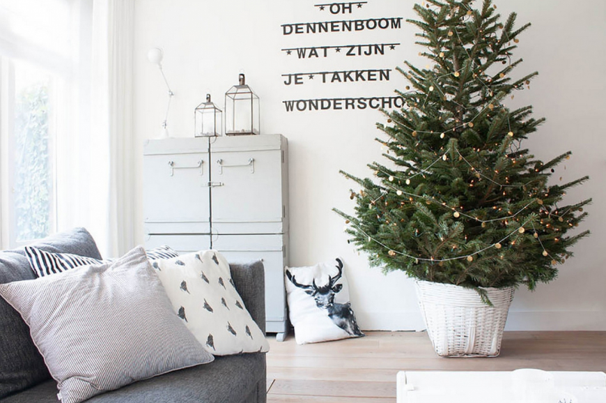 Новогодний интерьер: 7 главных атрибутов новогоднего декора