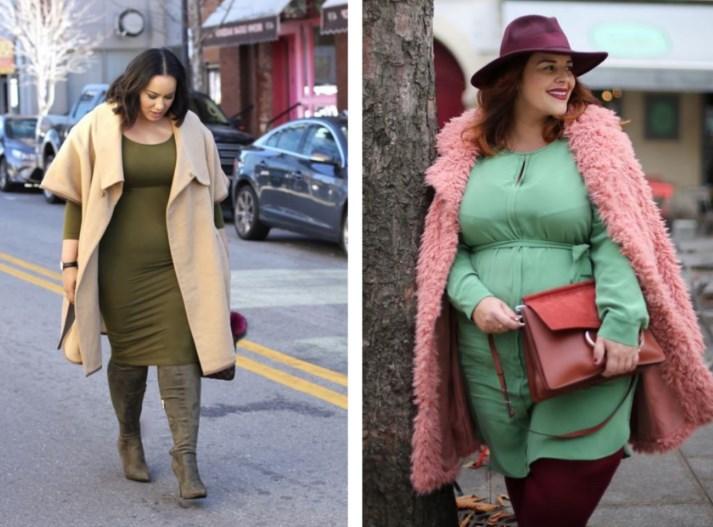 Модные образы для полных женщин на весну и лето 2019, фото