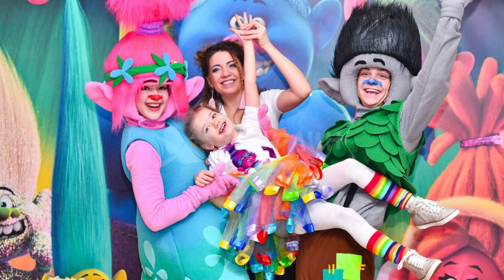 Тематический Детский День Рождения в Харькове