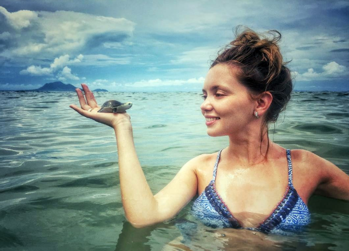 Ольга Кузьмина поделилась снимками с отпуска в Хорватии
