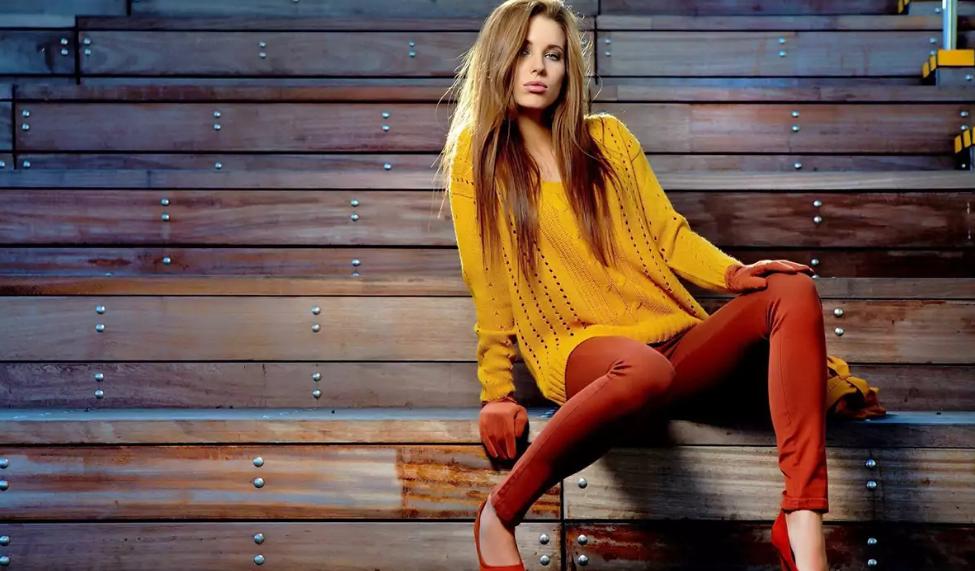 Модная одежда оранжевого цвета в коллекциях сезона весна-лето 2019, фото