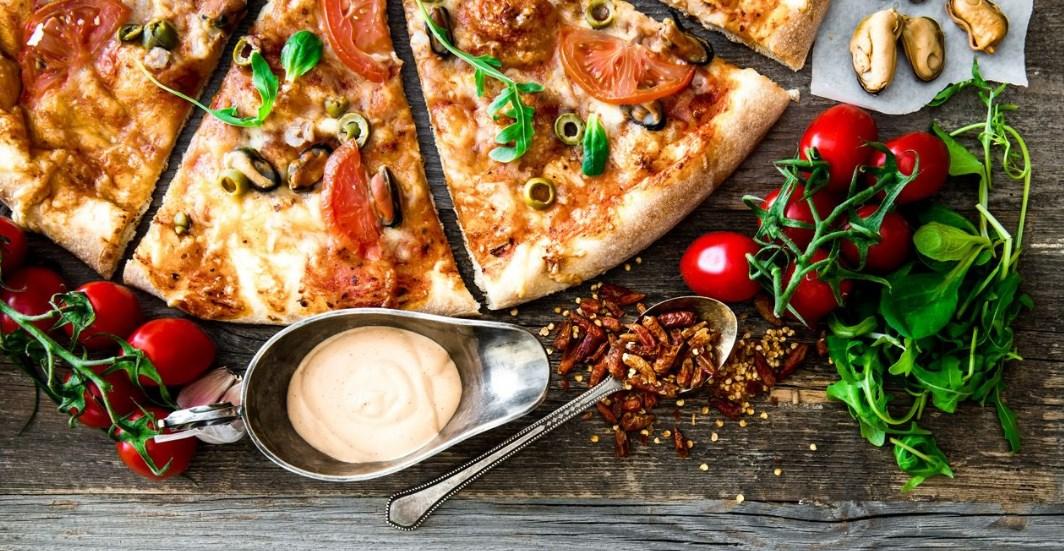 Перекус в стиле итальянской кухни