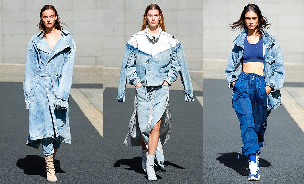 Модная женская джинсовая одежда 2019-2020