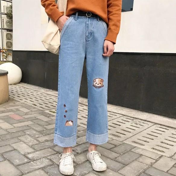 Модные женские джинсы осень-зима 2019-2020, фото