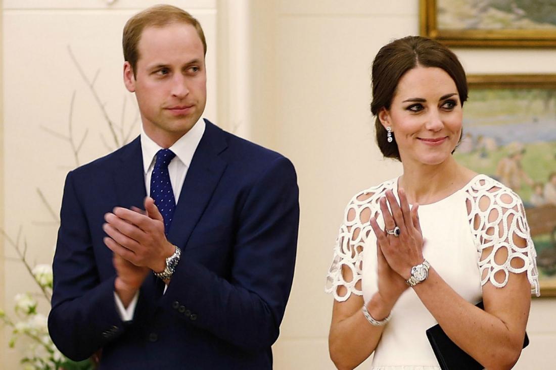 Принц Уильям и Кейт Миддлтон поразили элегантными образами на красной дорожке