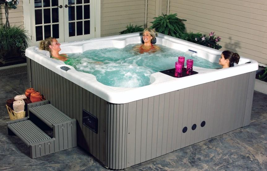 Какая польза от спа-бассейна джакузи?