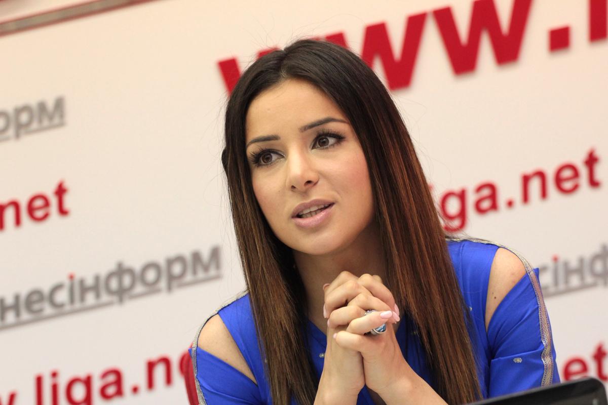 Злата Огневич вышла в свет в платье за 10,5 тысяч гривен