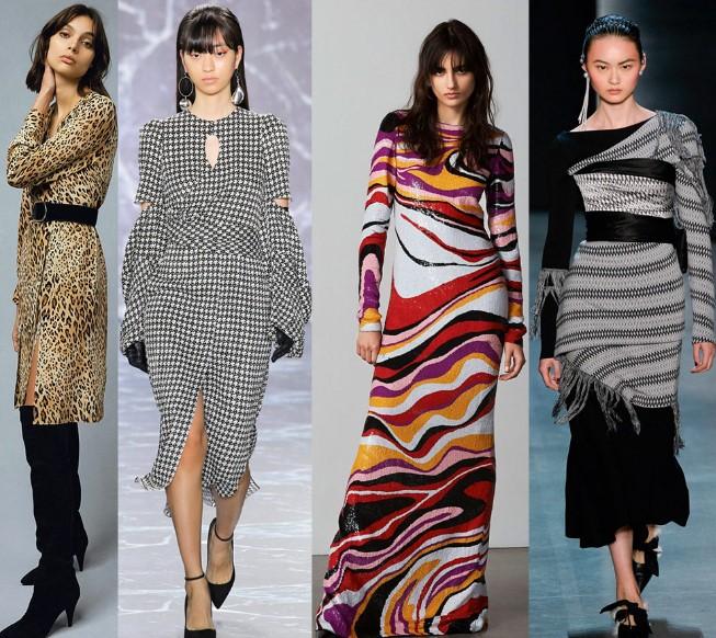 Модные женские платья осень-зима 2019-2020, фото