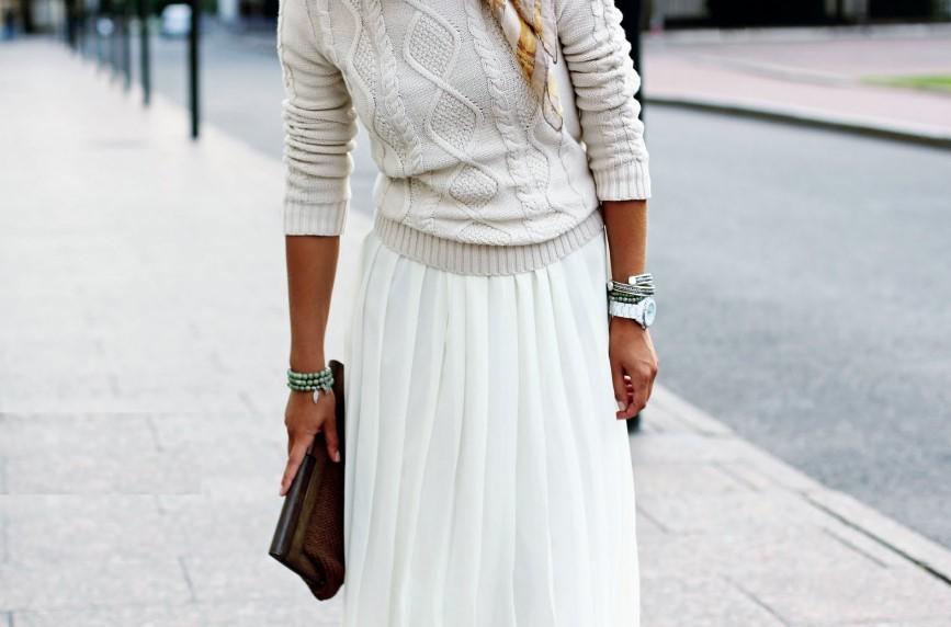 Модный женский теплый свитер на осень и зиму 2019-2020, фото