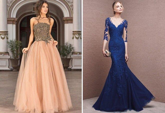 Платье в пол - изысканная одежда для разных случаев