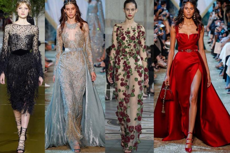Модные вечерние платья в коллекциях сезона осень-зима 2019-2020, фото