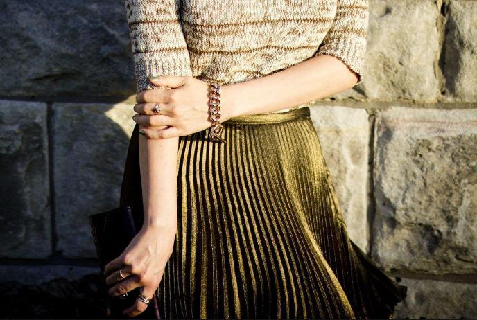 Модные плиссированные юбки в коллекциях весна-лето 2019, фото