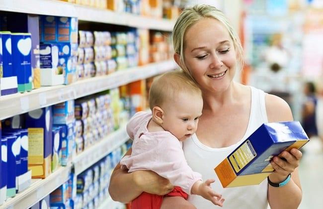 Правила выбора и покупки детского питания