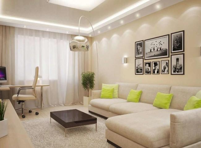 Интерьеры спальных и гостиных