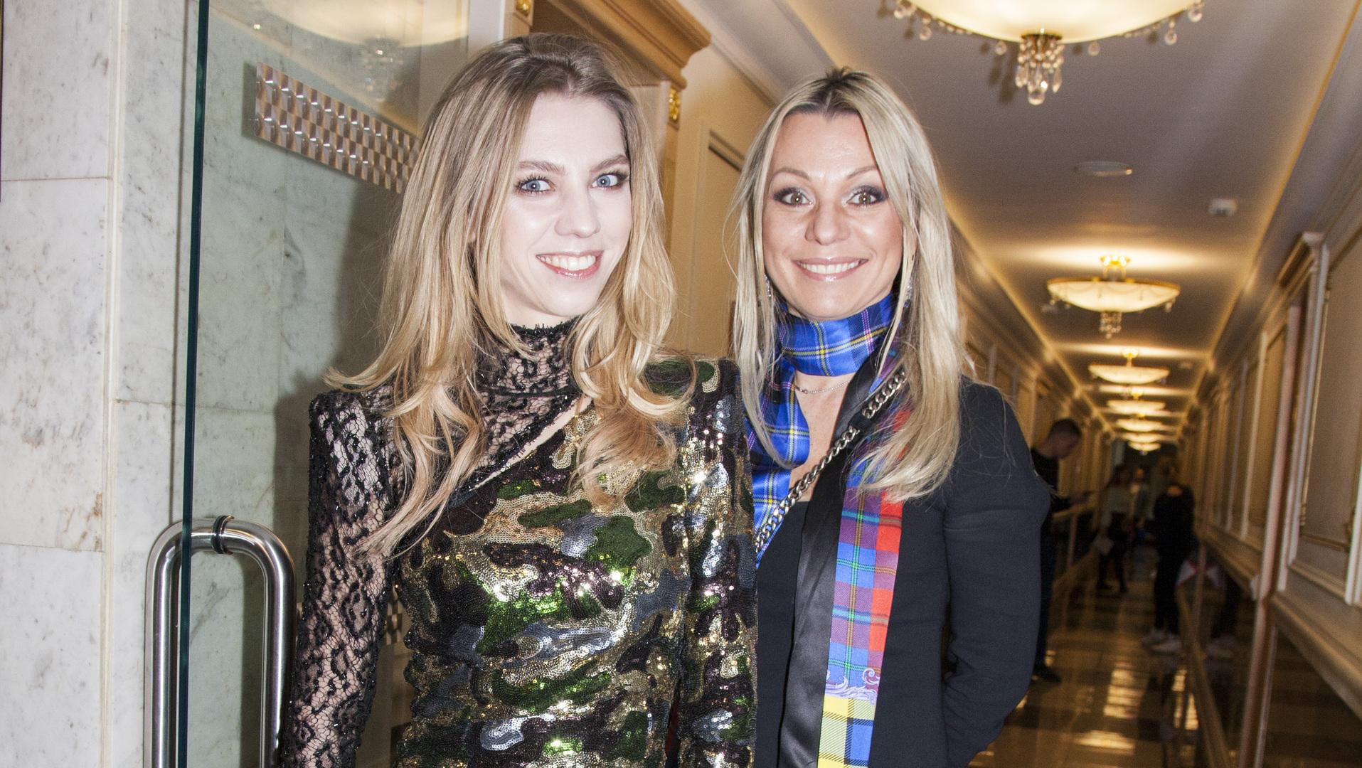 Ирина Салтыкова вывела в свет дочь после пластической операции