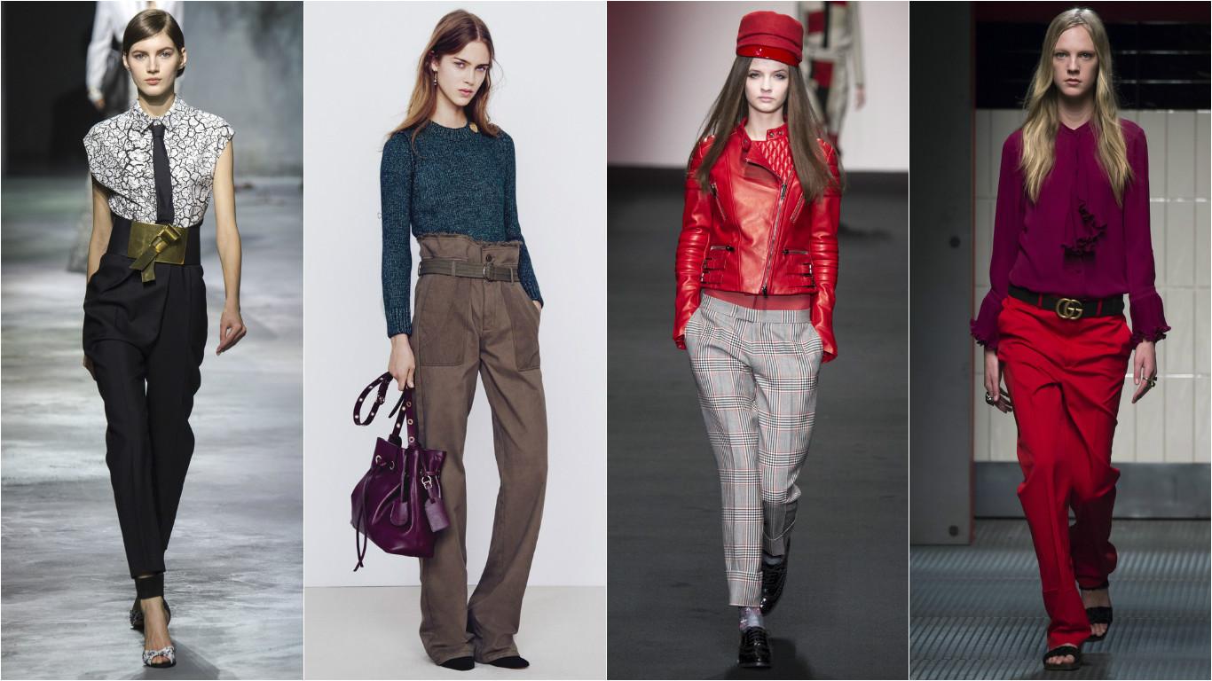Модные модели брюк сезона лето 2019