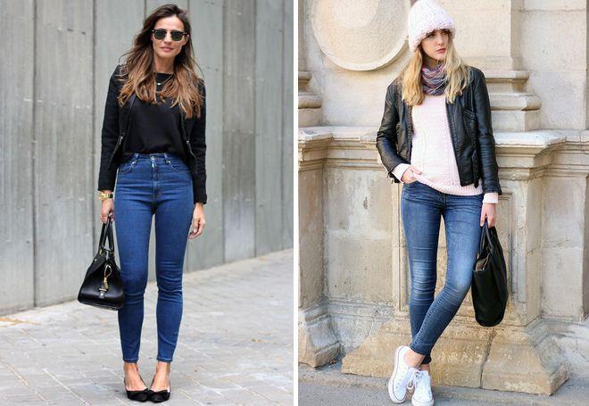 Универсальные правила моды: с чем носить брюки скинни