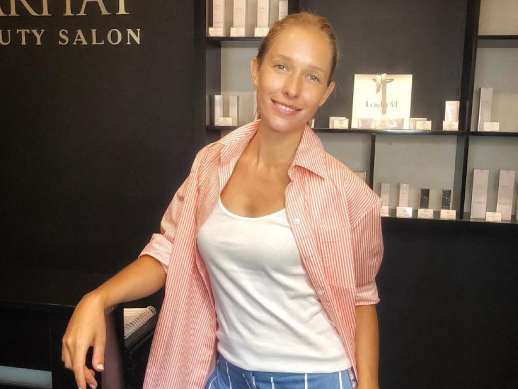 Катя Осадчая продемонстрировала стильный летний образ