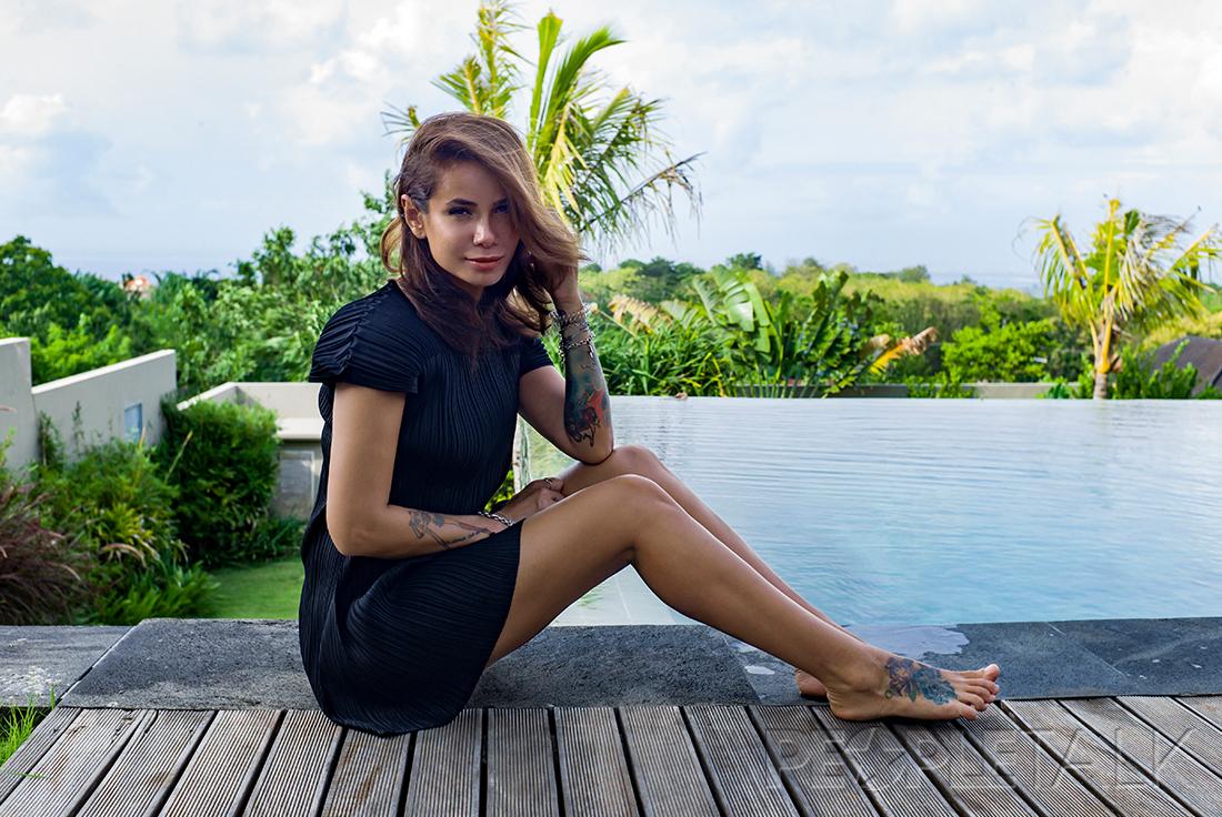 Тропический отдых на Бали Айзы Анохиной подошел к концу