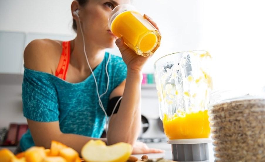 Основные правила питания во время тренировок
