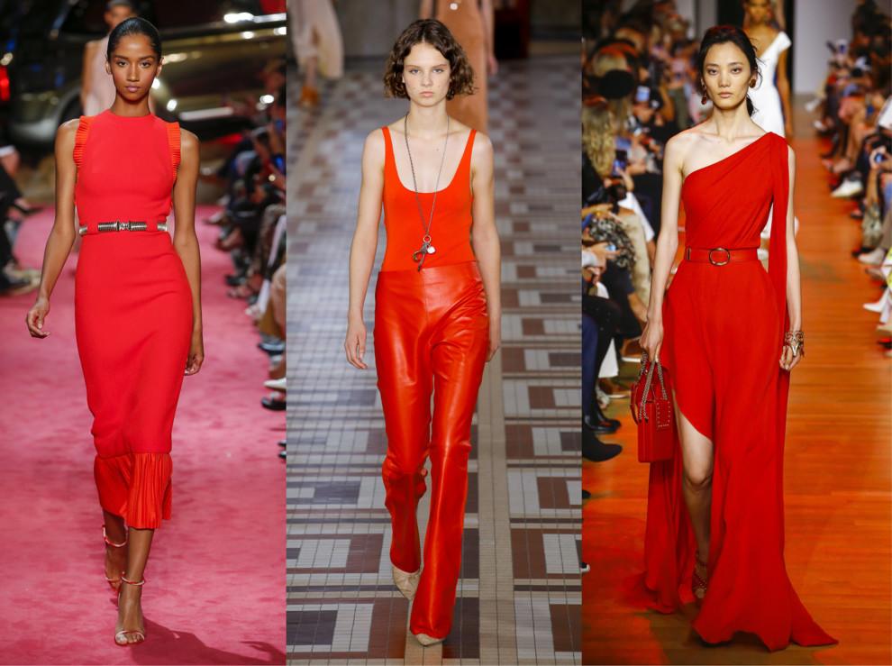 Модные цвета весна-лето 2020: оранжевое солнце