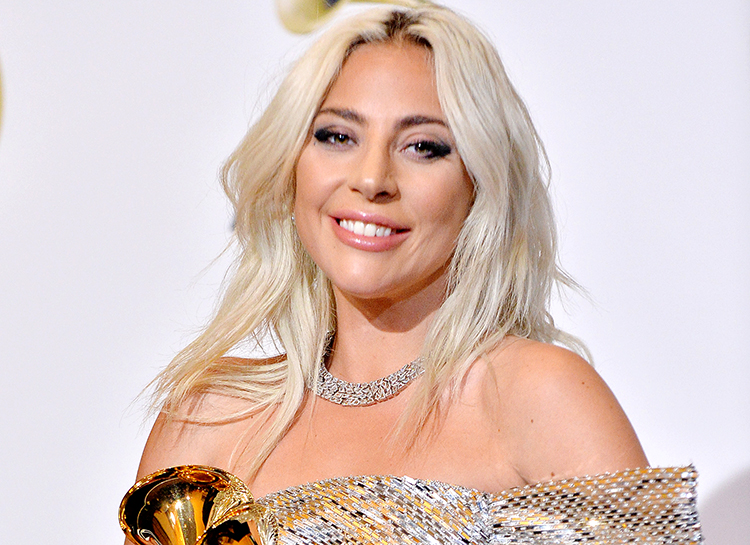 Эпатажная Леди Гага оголилась прямо на красной дорожке