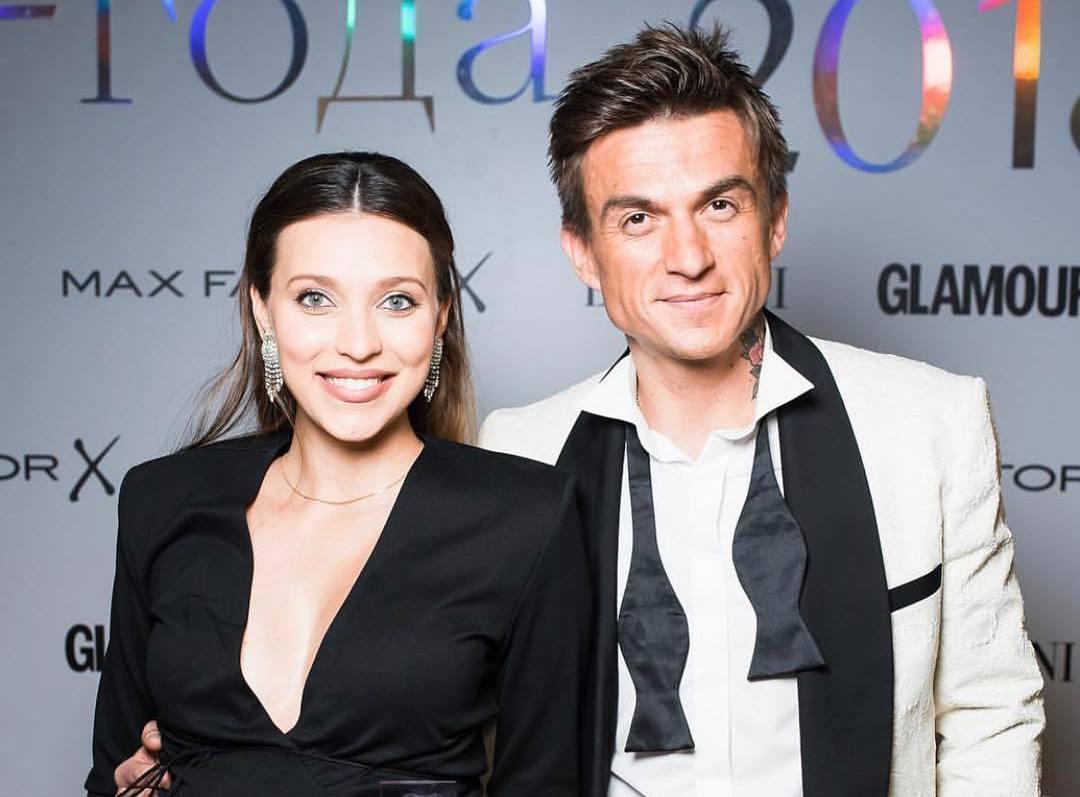 Регина Тодоренко вышла в свет с мужем Владом Топаловым