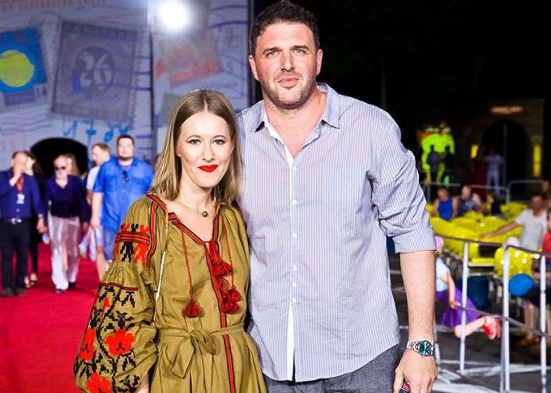 Ксения Собчак и Максим Виторган вместе отдыхают на Кипре