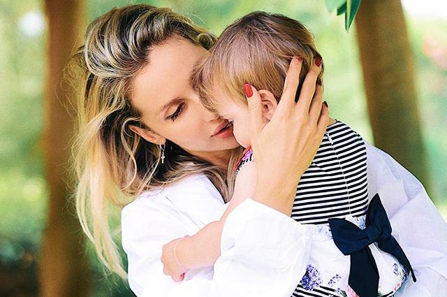 Младшей дочери Светланы Лободы исполнился 1 год