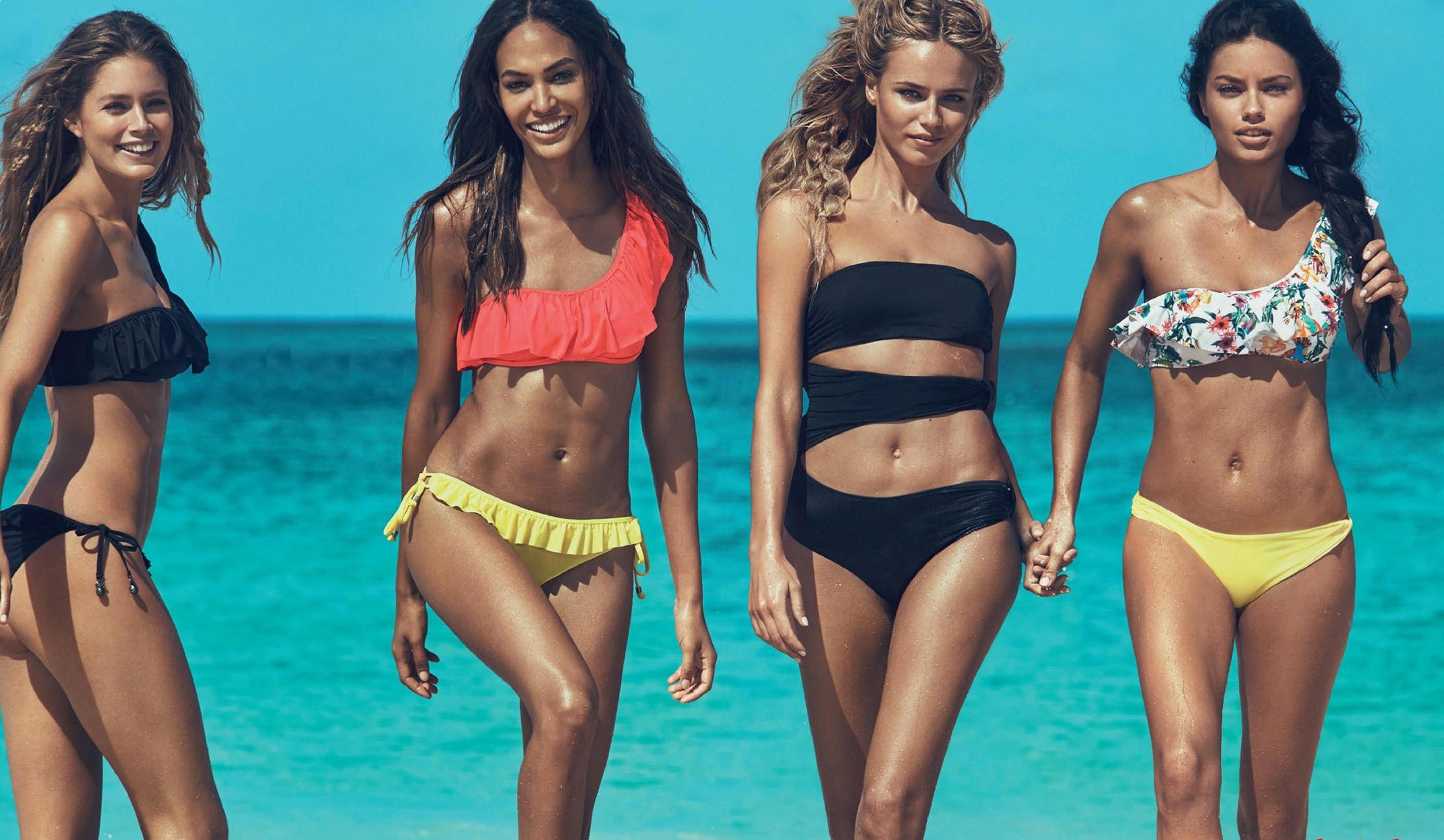 Пляжная мода: основные виды купальников