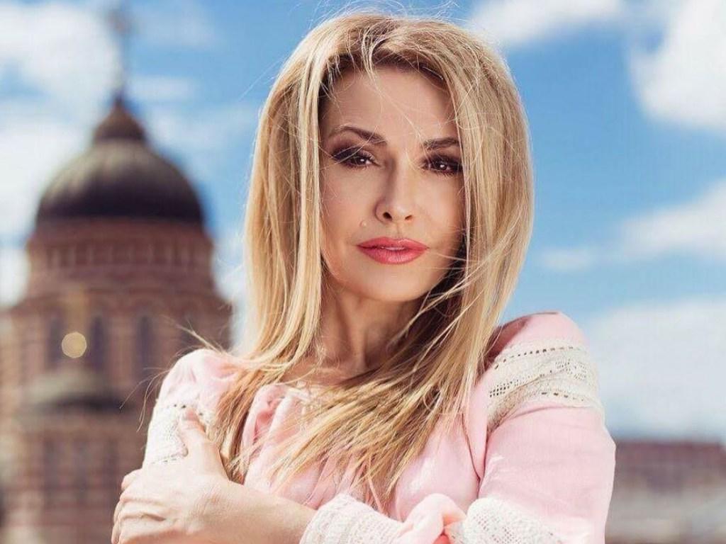 Ольга Сумская примерила образ киевской княгини