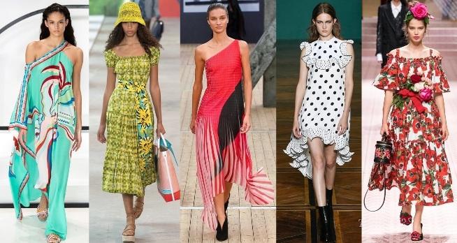 Модные женские платья весна-лето 2020