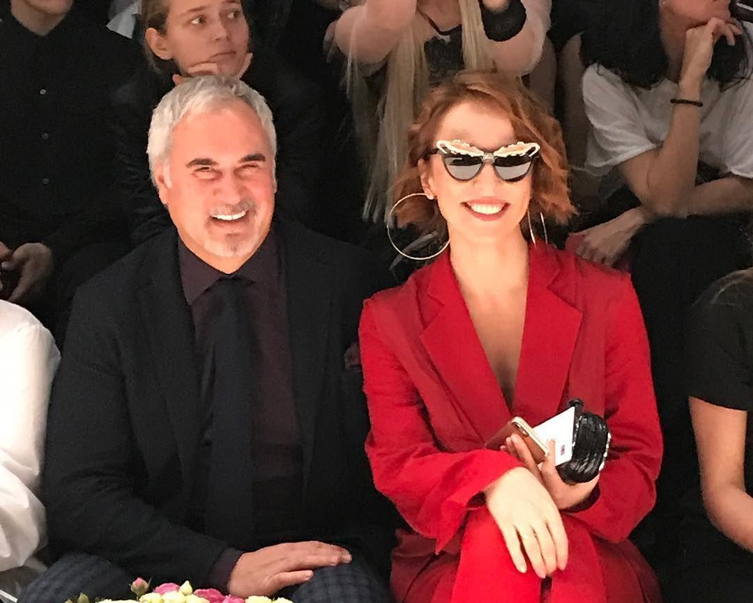 Альбина Джанабаева и Валерий Меладзе отдыхает в Милане
