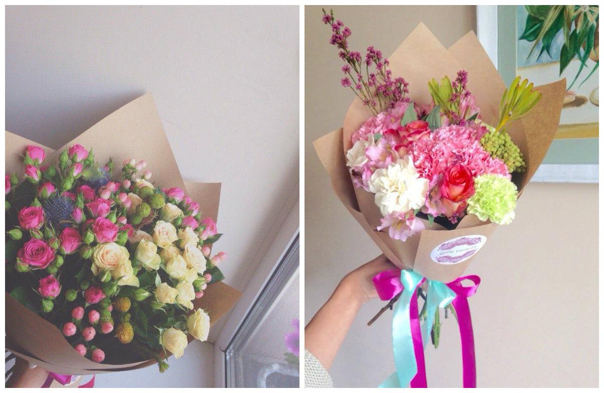 Онлайн доставка цветов экономит личное время